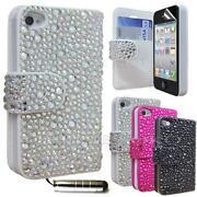 iPhone 4 Diamante Flip Case