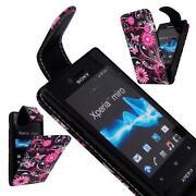 Sony Xperia Miro Leather Case