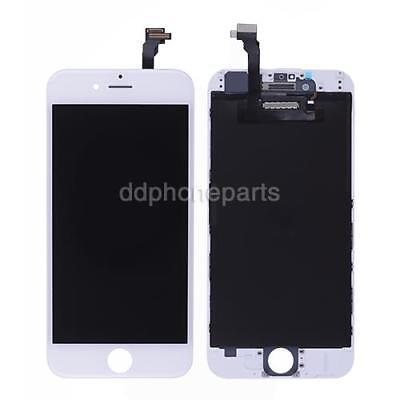 White LCD Screen Display + Touch Screen Digitizer + Frame for iPhone 6 4.7''