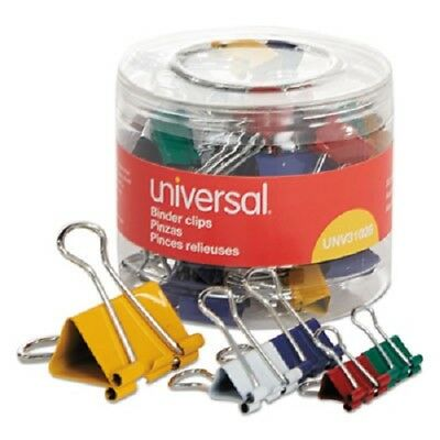 Universal Assorted Binder Clips Minismallmedium Assorted Colors 30pack 31026