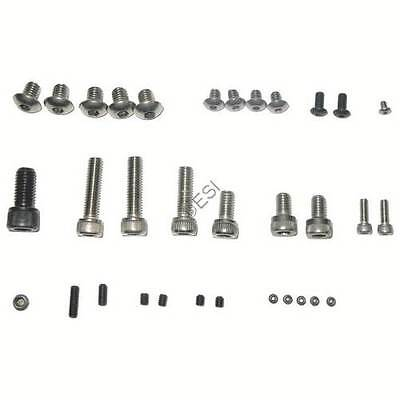 Deluxe Screw Kit for Smart Parts Impulse 09 paintball (Smart Parts Impulse Screw)