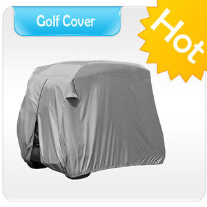 Waterproof Golf Cart Cover Fit 2 Passenger Yamaha Club Car EZ-GO Buggy SG1AS