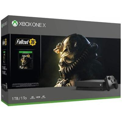 Xbox One X 1TB Fallout 76 Bundle  -  Digital Download of Fallout 76 included - B