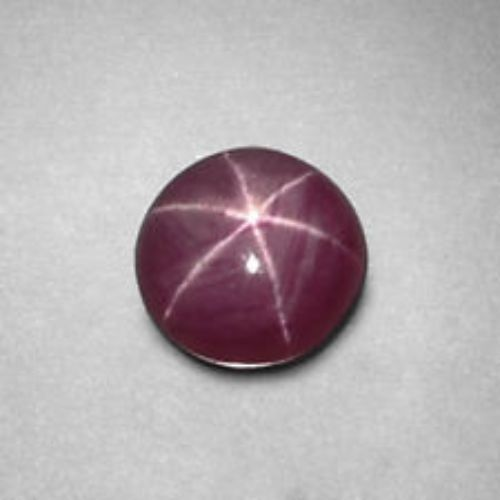 7cts Sharp Line Natural 6 Rays Star Ruby Loose Gemstone