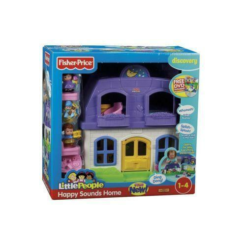 Fisher Price Little People Sweet Sounds Doll House | eBay