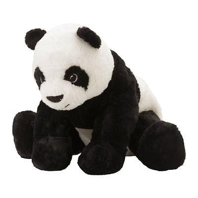 Ikea Kramig Panda Teddy Bear Stuffed Animal Plush Soft Toy Kids Baby White - Child Plush