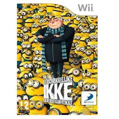 Cattivissimo Me Gioco Per Nintendo Wii Nuovo Olandese Confezione