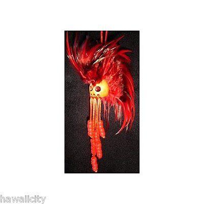 Hawaiian Red w/Black Ikaika Warrior Helmet from Hawaii