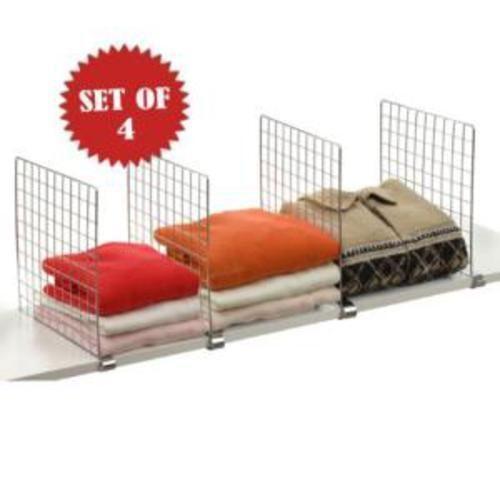 Wire Shelf Dividers Home Amp Garden Ebay