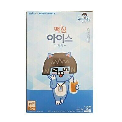 [MAXIM] KAKAO FRIENDS ICE COFFEE MIX (13g*120sticks) Korea Instant Coffee
