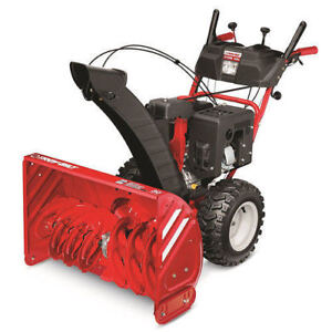 """TROY-BILT XP STORM 30""""TWO-STAGE GAS SNOW BLOWER SELF-PROPELLED"""