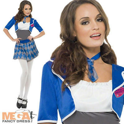 Naughty School Girl Costume Ladies Fancy Dress Sexy Uniform Adult Costume Outfit](Naughty Adult Outfits)