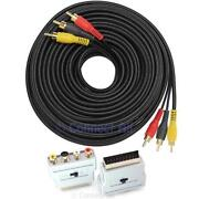 Scart RCA Cable