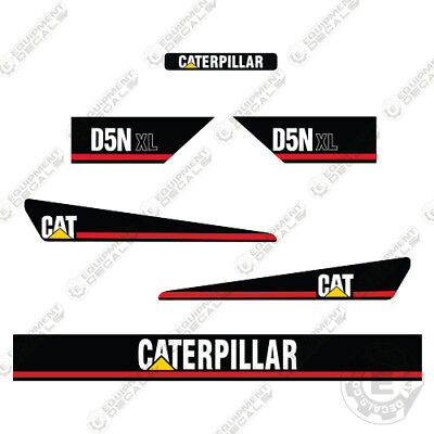Caterpillar D5n Xl Bulldozer Decals Early 2000s Style Decals 7 Year Vinyl