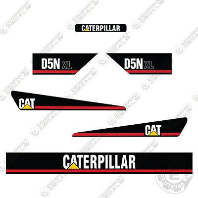 Caterpillar D5n Xl Bulldozer Decals Early 2000s Style Decals 7 Year Vinyl
