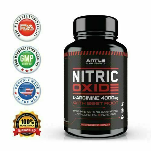 NITRIC OXIDE MALE PENIS ENLARGER, THICKER LONGER BIGGER GROWTH ENLARGEMENT PILLS