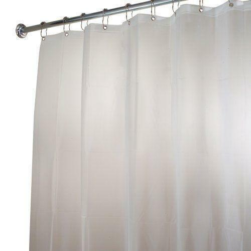 extra long clear shower curtain ebay