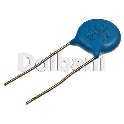5pcs @$1.39 10D431K Metal Oxide Varistor Volt. Dependent Resistor 430V 275V AC