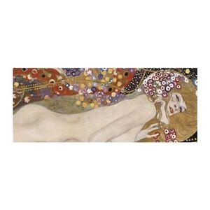 Reproduction de Gustav Klimt le Serpent d'eau