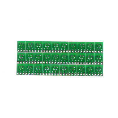 30 Pieces 0.95mm to 2.54mm SOT23 to SIP3 Adapter SMD convert Double Sides  CMUK