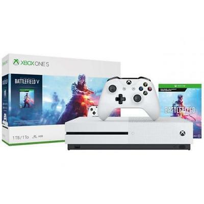 Xbox One S 1TB Battlefield V Bundle - Battlefield V Deluxe Edition included