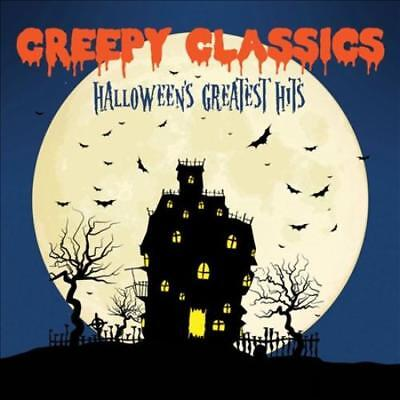 CREEPY CLASSICS: HALLOWEEN'S GREATEST HITS NEW CD](Creepy Classics Halloween's Greatest Hits)