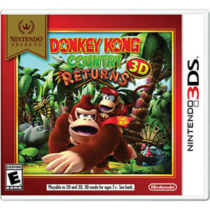 Donkey Kong Country Returns 3D (Complete In Box)