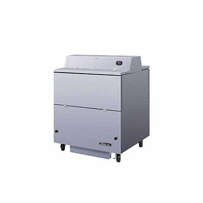 Turbo Air Tmkc-34d-n-ss 34-inch L Dual Access Milk Cooler Stainless Steel Ext.