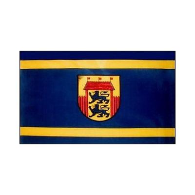 Fahne Husum Flagge ca. 90 x 150 cm - Stadtflagge