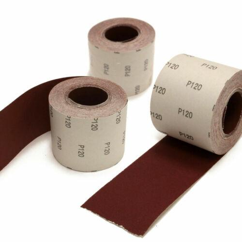 25m Rolle Schleifpapier Schmirgelpapier Schleifrolle Sandpapier Korn P40 - P400