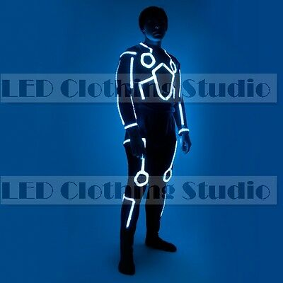 Flyboard model 1 Single color LED waterproof Tron costume (Tron Costume)