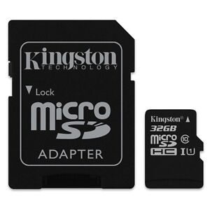 KINGSTON-MICRO-SDHC-C10-32GB-32G-32-G-CLASS-10-UHS-I-U1-MICRO-SD-HC-MEMORY-CARD