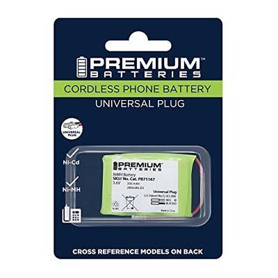 Premium Batteries BT-17333 P-P303 Universal Cordless Phone Battery for 2/3 AA3