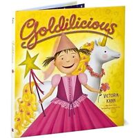 2 NEW - Goldilicious & Silverlicious Hardcover Books(Age 4-8)