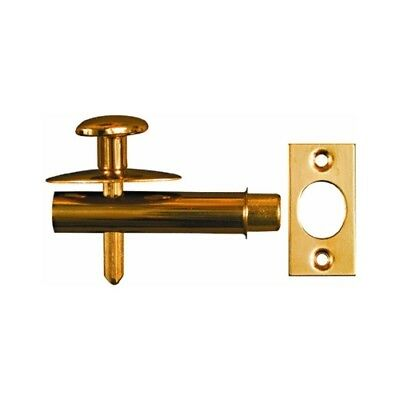 National Mfg Spectrum Brands Hhi N216 143 Mortise Bolt  Brass 1 3 4