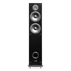 Polk Audio R50 150-Watt Tower Speaker - Black - Pair New
