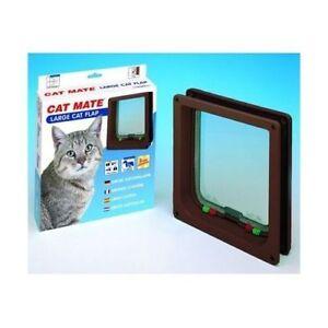 Cat mate door 4way large cat white/brown colour available smart d Carlisle Victoria Park Area Preview