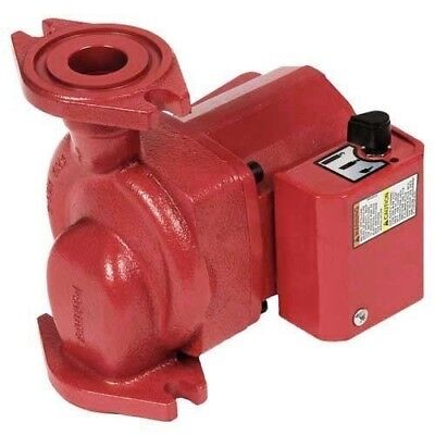 Bell Gossett Nrf-25 115 Hp Red Fox Circulator Pump 3 Speed 103417