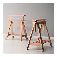 Trestle table legs for desk