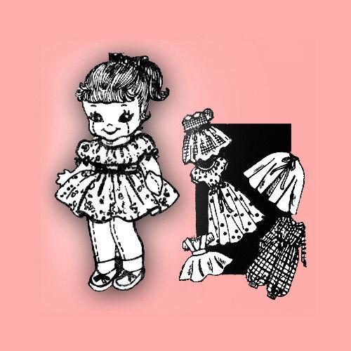 Vintage Darling Little Girl Doll Pattern