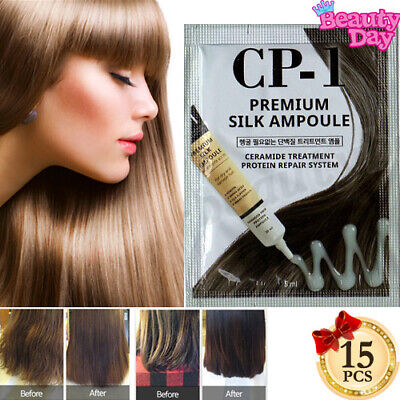 CP-1 Premium Silk Protein Ampoule Serum 5ml 15p Salon Clinic Damage Care Essence
