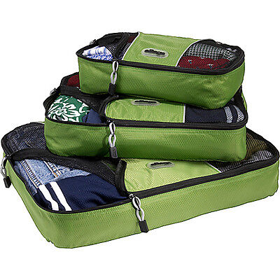 eBags Packing Cubes - 3pc Set - Grasshopper on Rummage
