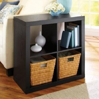 Better Homes and Gardens 4 Cube Square Organizer Storage