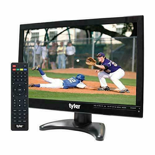 "Tyler TTV705-14: 14"" Portable Battery Powered LCD HD TV Tele"