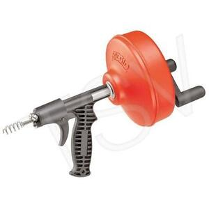 Ridgid 1/4 in. x 25 ft. Power Spin Drill / Hand Driven Spinner