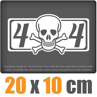 4 x 4 4-wheel 20 x 10 cm JDM Decal Sticker Sticker Racing Die Cut
