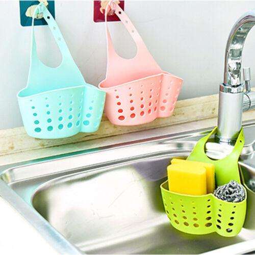 Sponge Holder Sink Caddy Soap Storage Basket for Kitchen Org