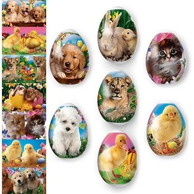 Thermo Heat Shrink Sleeve Easter Egg Wraps Pysanka Pysanky Easter Pets Animals