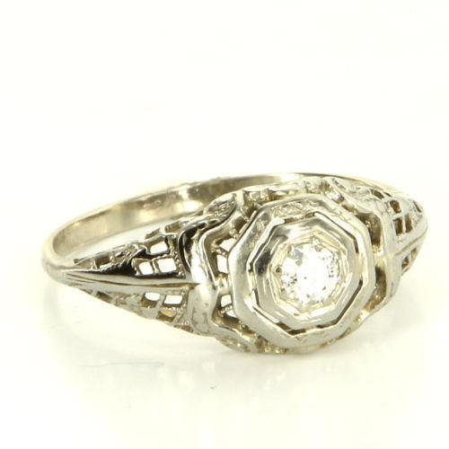 Antique vintage rings ebay for Where can i sell my old wedding ring