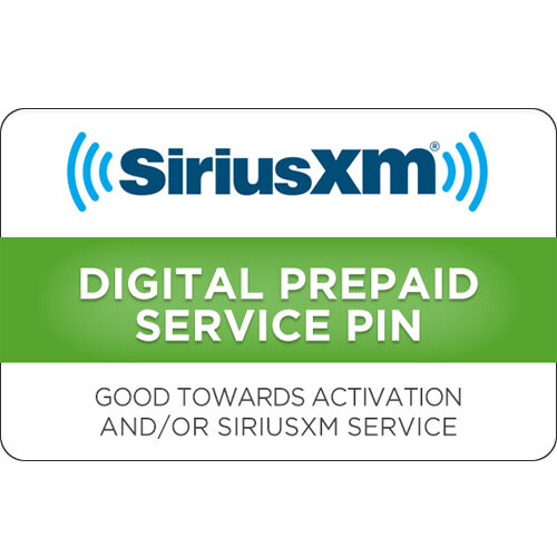 Изображение товара Sirius XM Gift Card $15, $30 or $50 - Email delivery